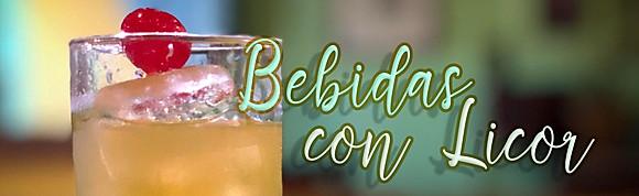 Bebidas con licor