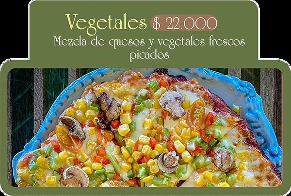 Mezcla de quesos y vegetales frescos picados