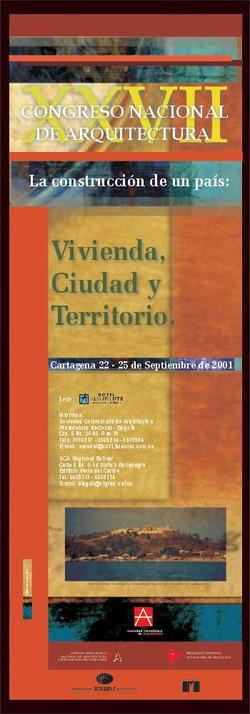 Poster XXVI Congreso de Arquitectura