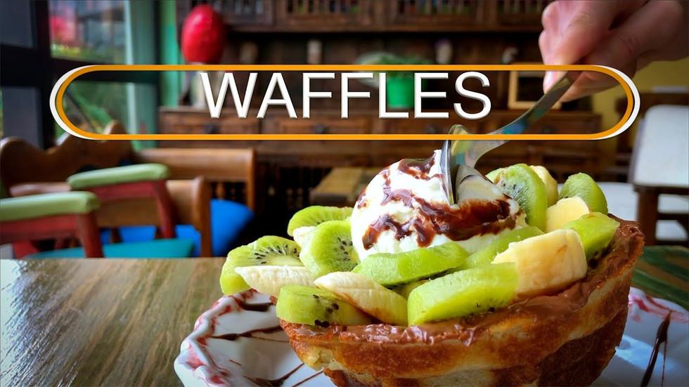Waffles Madame Lilí