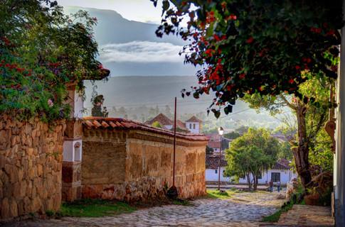 Paisaje de Villa de Leyva