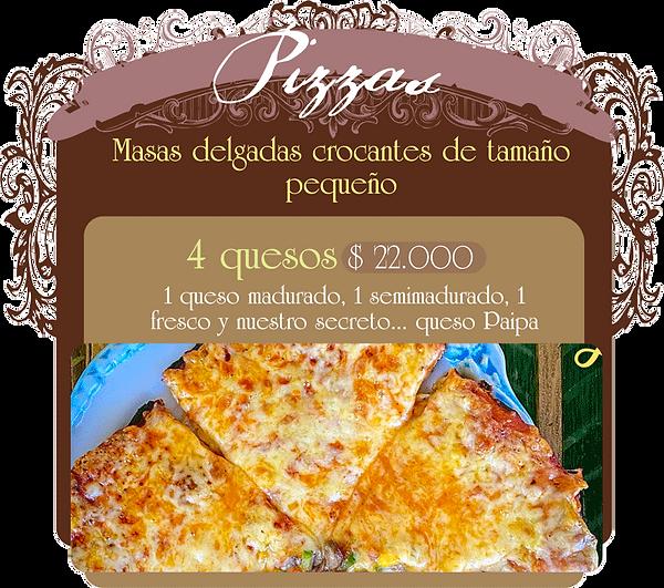 1 queso madurado, 1 semimadurado, 1 fresco y nuestro secreto... queso Paipa