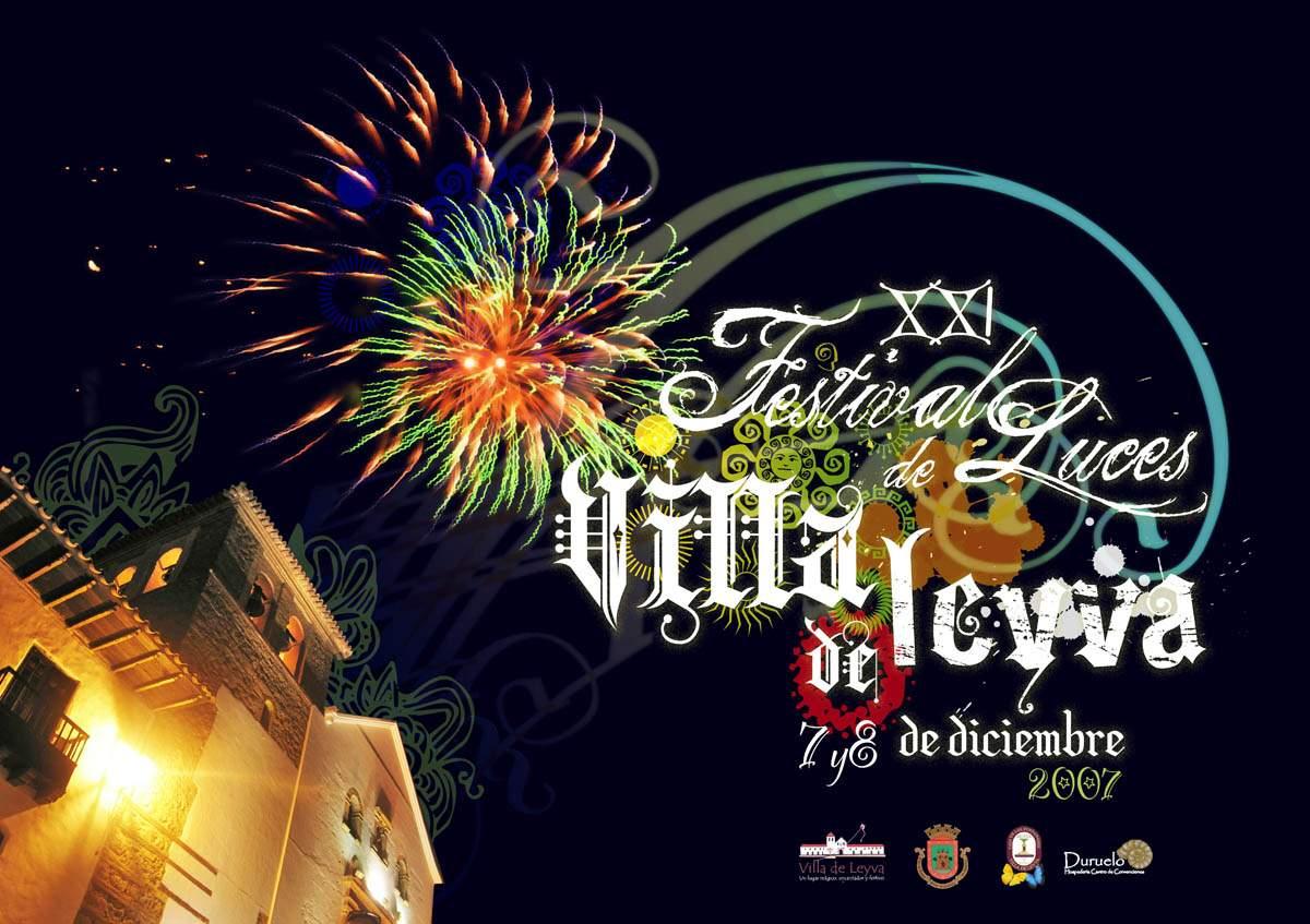 Poster Villa de Leyva luces 2007
