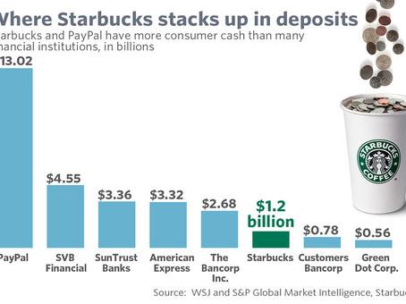 Bank of Starbucks? The Coffee Brand Becoming More Like a Bank