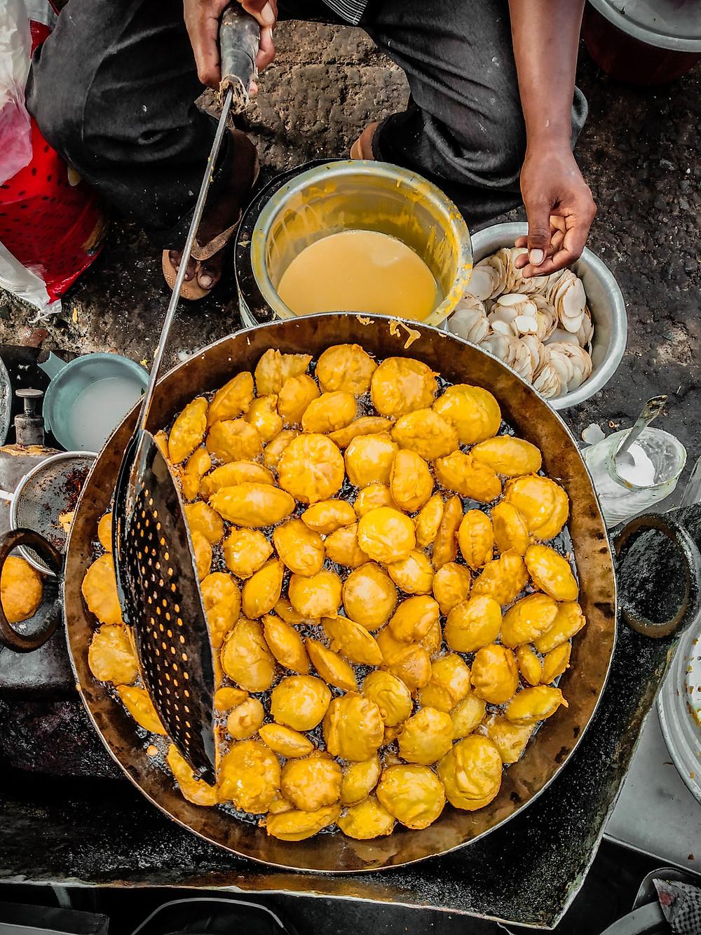 Entrepreneurs in the form of street vendors in Mumbai