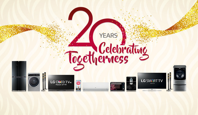 LG completes 20 years in Indian market
