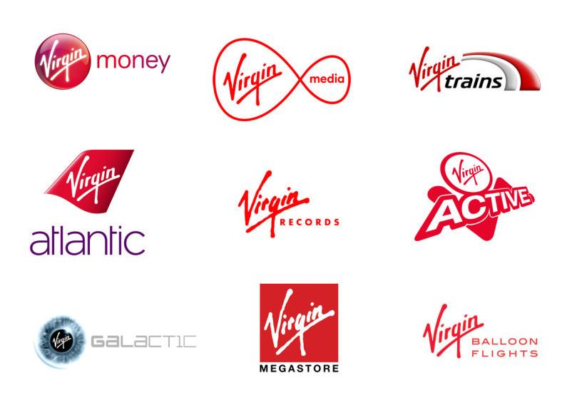 Virgin group brand