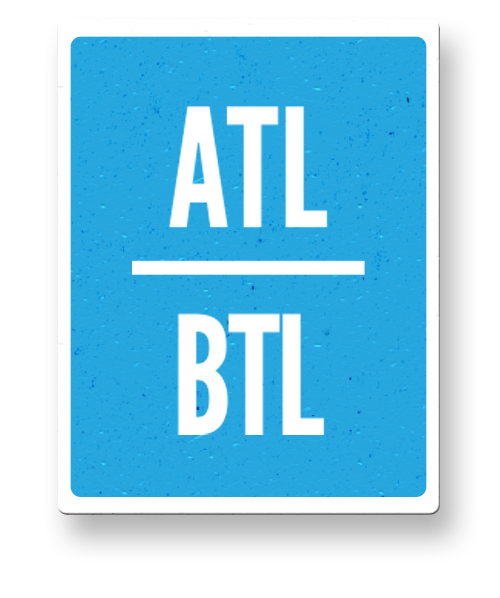 What is ATL and BTL in advertising?
