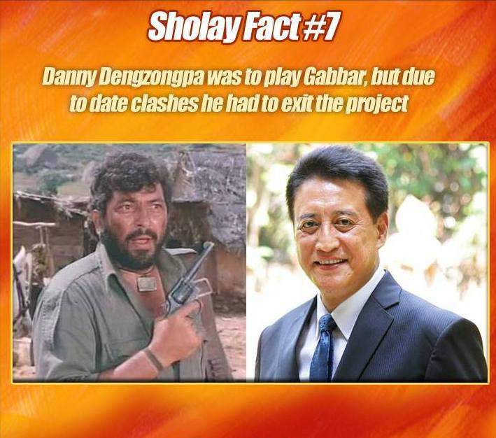 Facts about Sholay movie