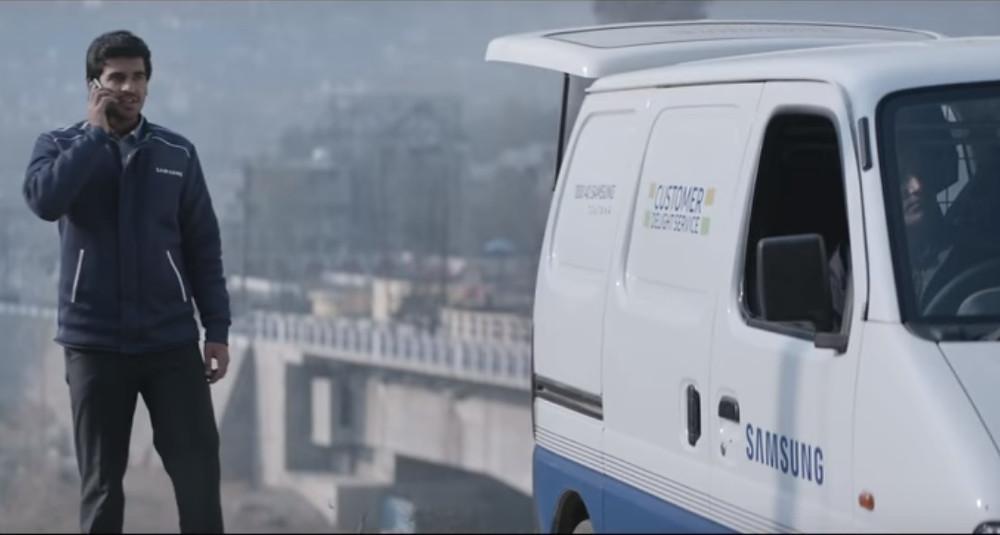 Samsung emotional ad