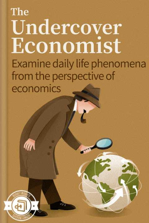 """Summary of the book """" The undercover economist"""""""