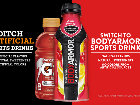 Coca Cola invests in BodyArmor - The health drink backed by Kobe Bryant
