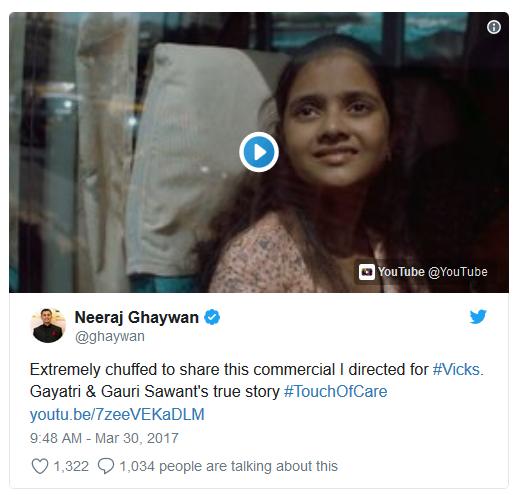 Vicks India ad