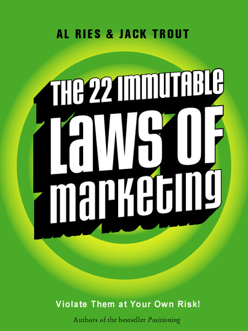 Testing the 22 immutable laws of marketing in current times
