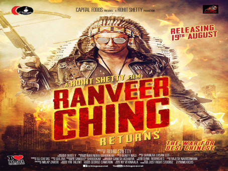 Ranveer Ching Returns with India's first Advertiser Funded Movie