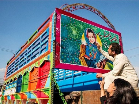 Berger Paints used Pakistani Truck Art to Help Find Missing Children