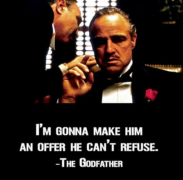 Godfather movie as a brand
