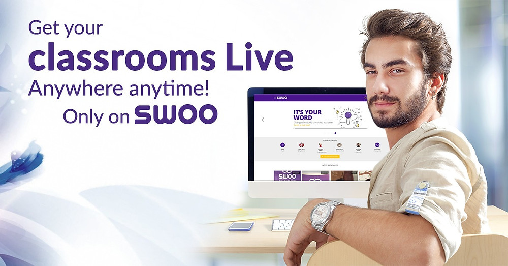 SWOO broadcasting app for education