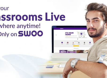 SWOO - the live broadcasting app that's disrupting the Education industry in collaboration with ALEF