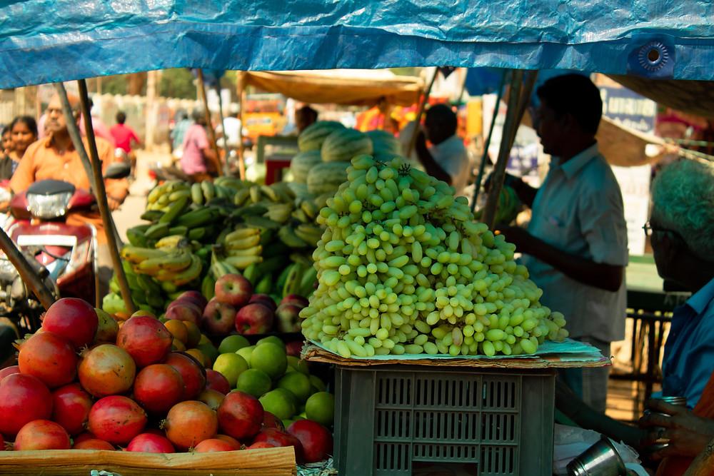 Distribution handled by street vendors in Mumbai