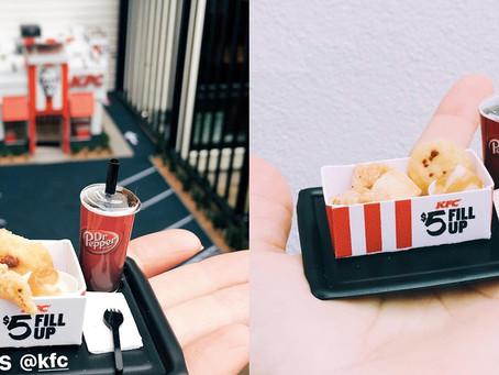 Miniature KFC - world's smallest KFC outlet