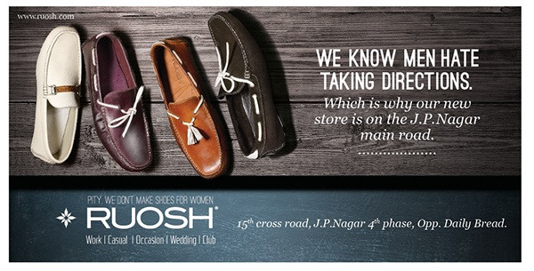 Premium shoes from RUOSH
