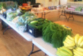 Produce at Springs Food Pantry