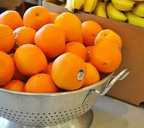 fresh fruit at food pantry