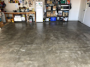 Concrete dusting by All Concept Concrete