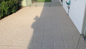 Resurfacing concrete with a difference