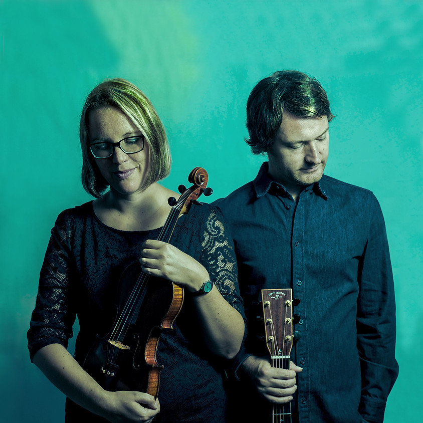 KuSo o21 > VERLEGT - Termin folgt > 'Fresh Folk from Scotland' - Steve Crawford (guit/voc) & Sabrina Palm (fiddle)  (1)