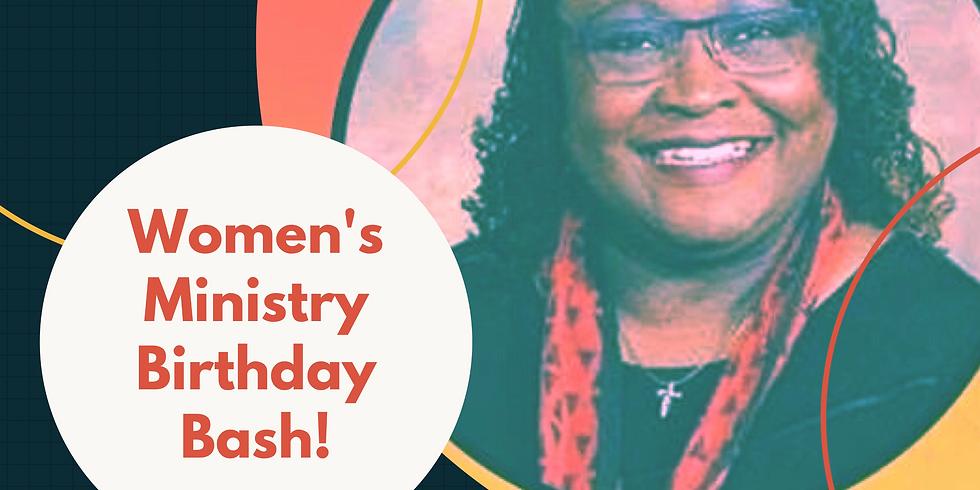 Women's Ministry Birthday Bash!