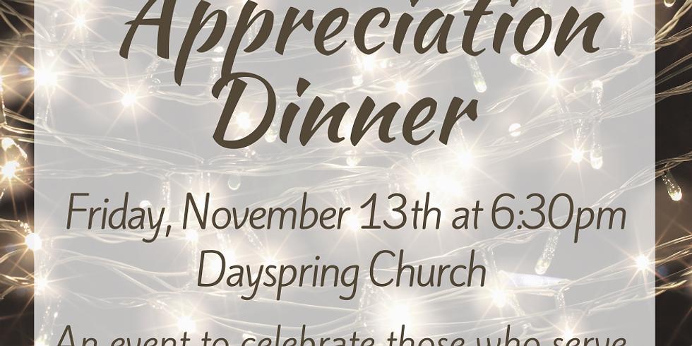 Appreciation Dinner