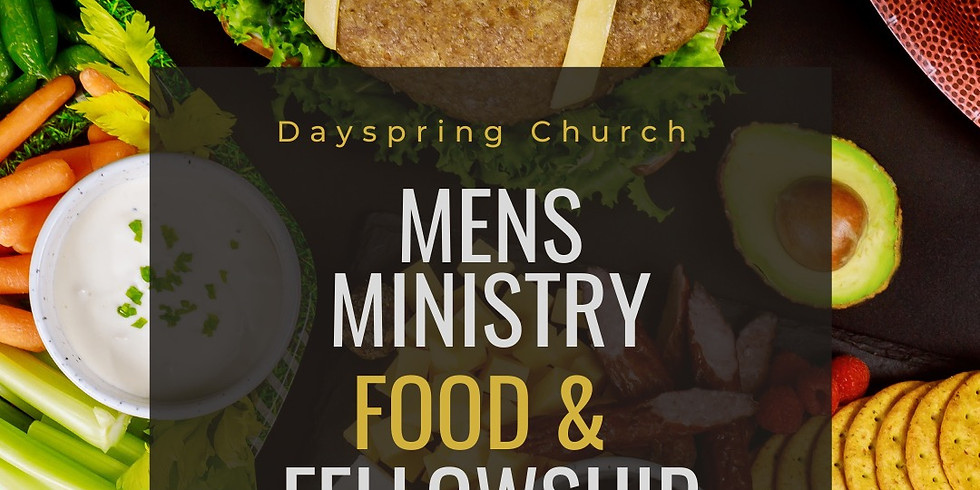 Men's Ministry Food and Fellowship