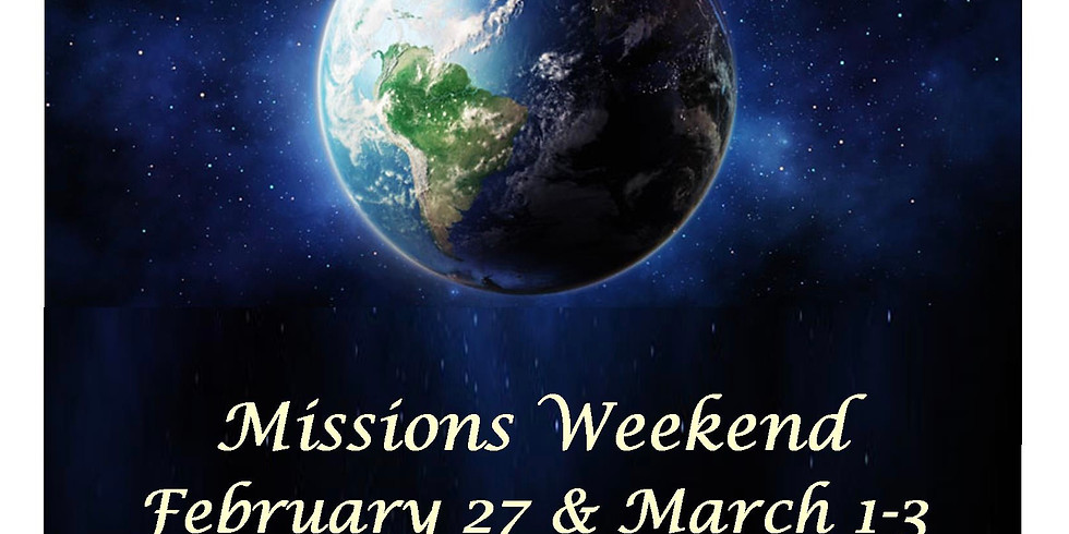 Missions Weekend