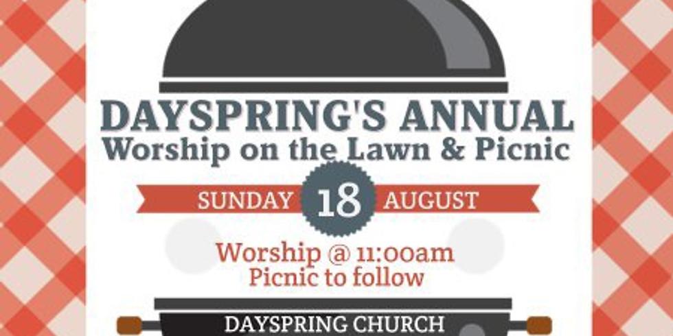 Annual Outdoor Worship & Church Picnic