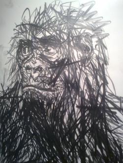 Self-portrait (after)