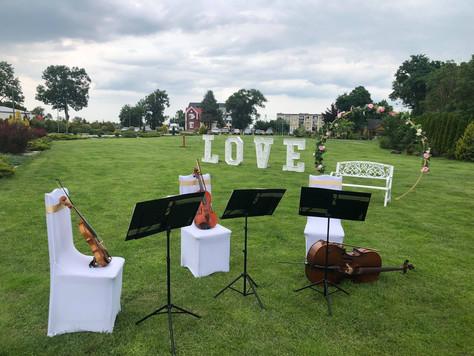 Oprawa muzyczna uroczystości ślubnej - lipiec 2021