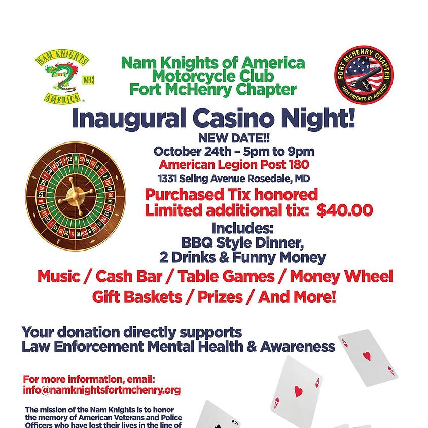 Fort McHenry Inaugural Casino Night