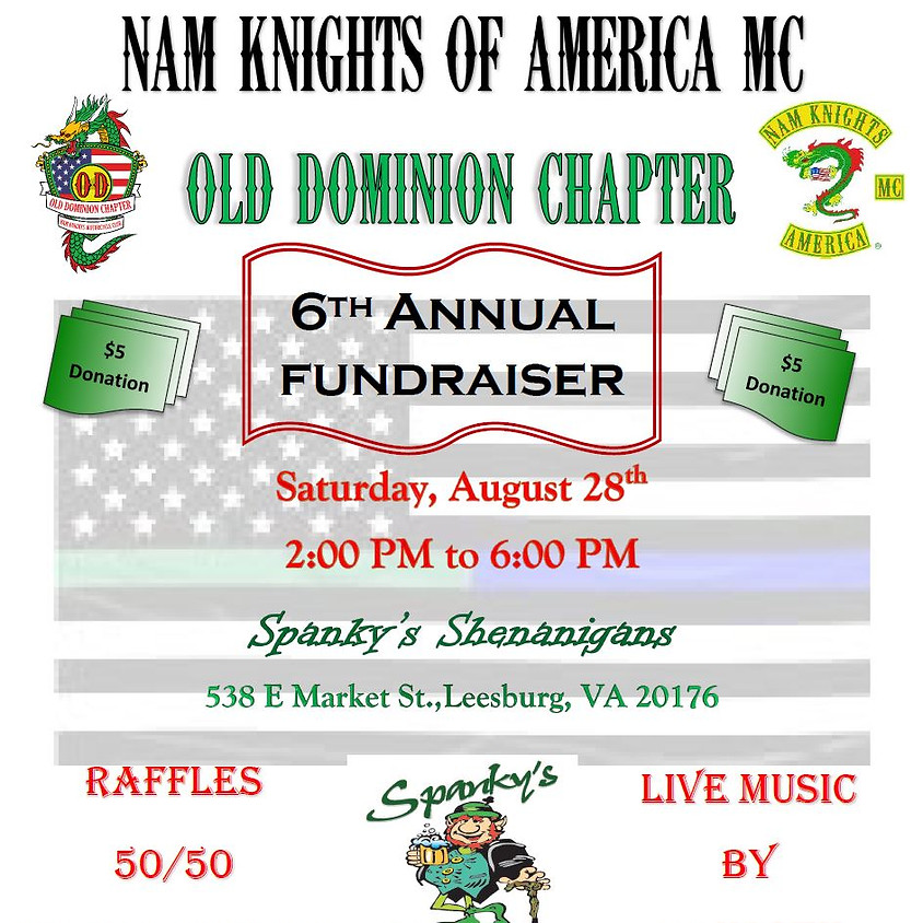 6th Annual Old Dominion Chapter Bash - Fundraiser