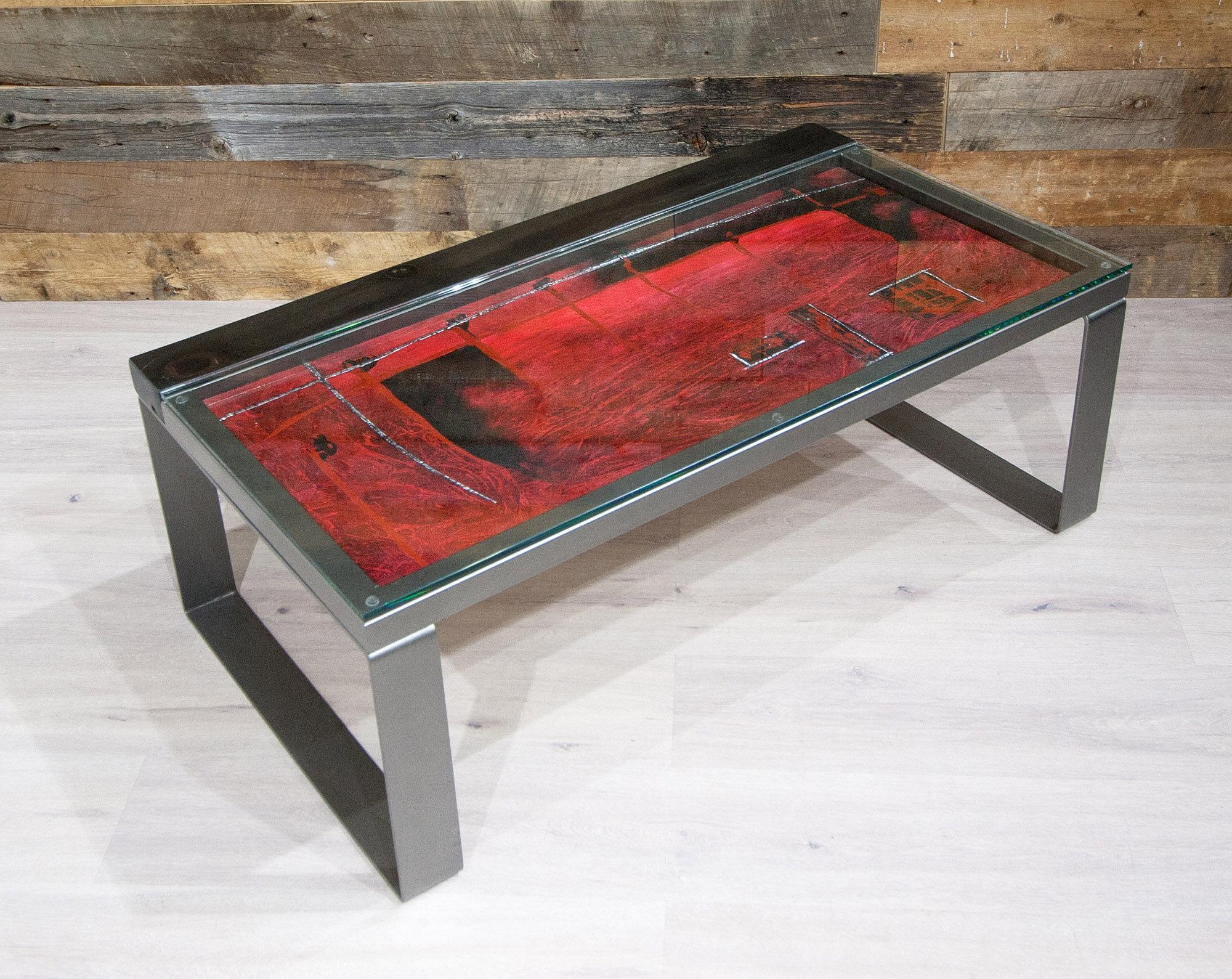 forge design | meubles | bois et métal | art nova - cielo de fuego - Meuble Design Metal