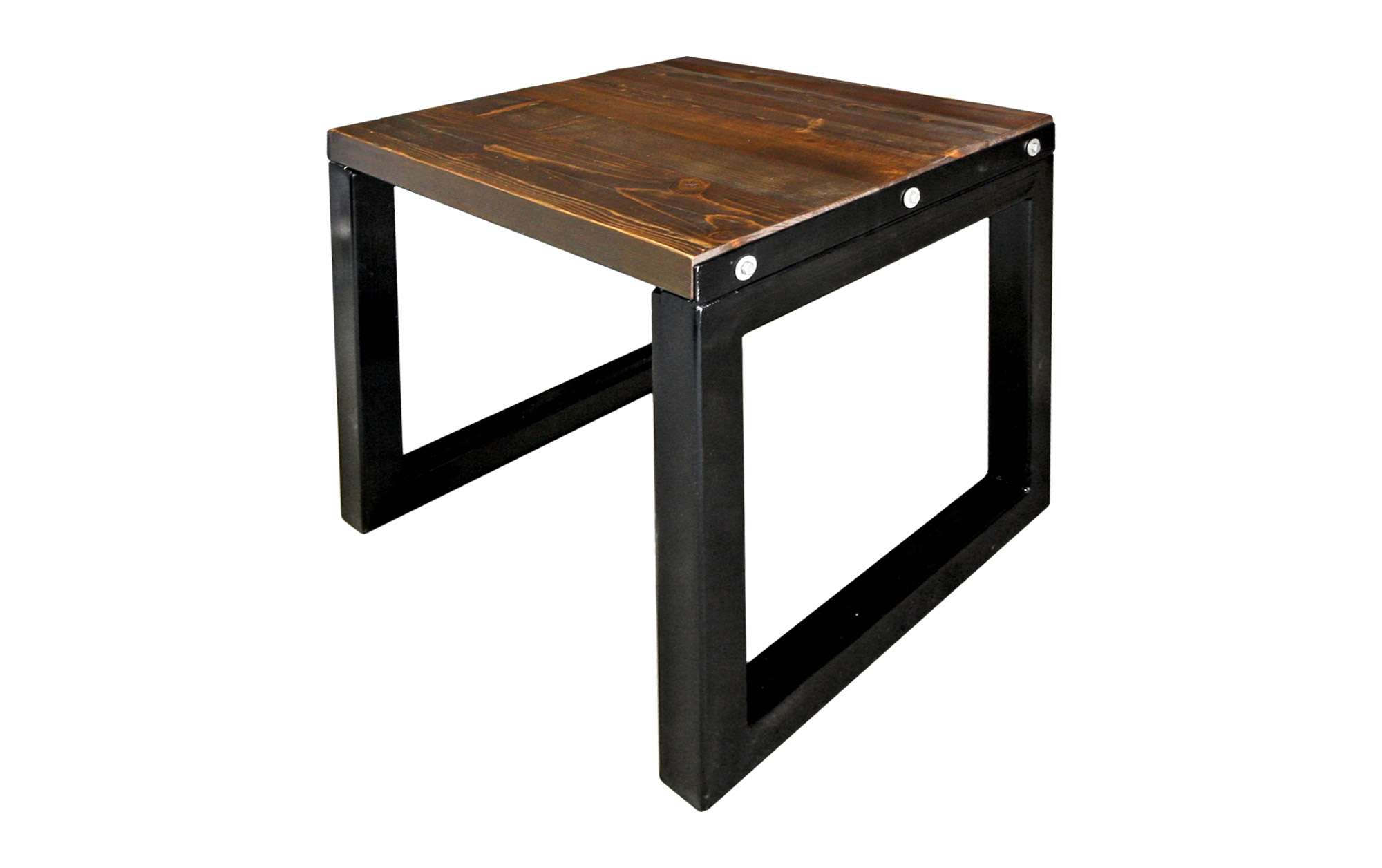 END TABLE BARN WOOD