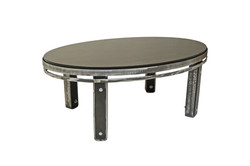 OVAL COFFEE TABLE BIRCH