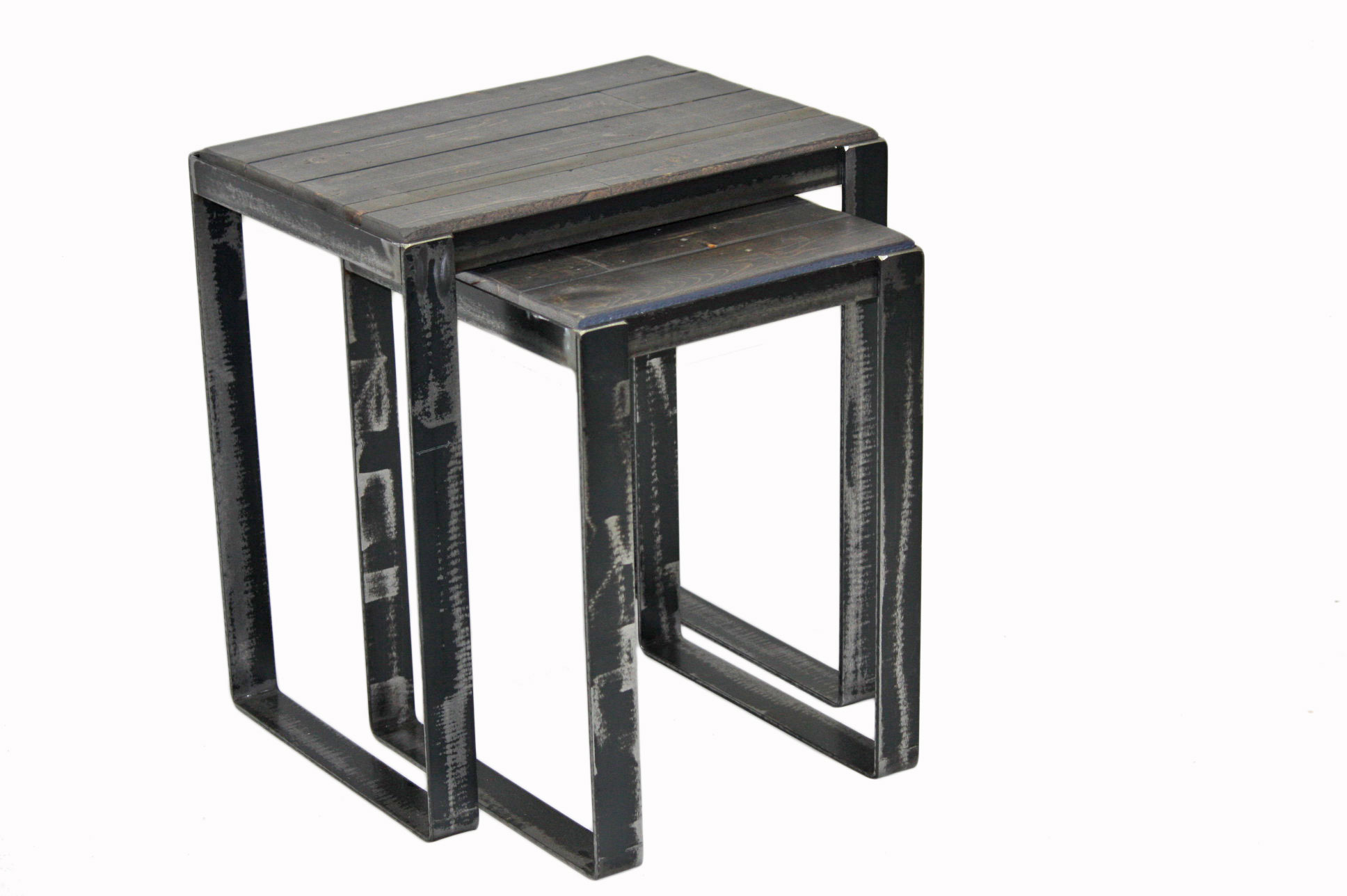 NESTING TABLES RECLAIMED WOOD