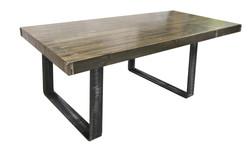 TABLE À DÎNER AVEC EXTENSION