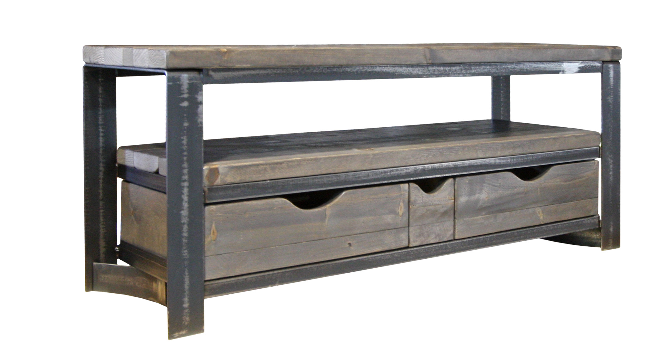 TV UNIT 3 DRAWERS RECLAIMED WOOD