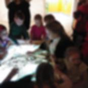 Мастер класс от Евгении Питерской в Детс