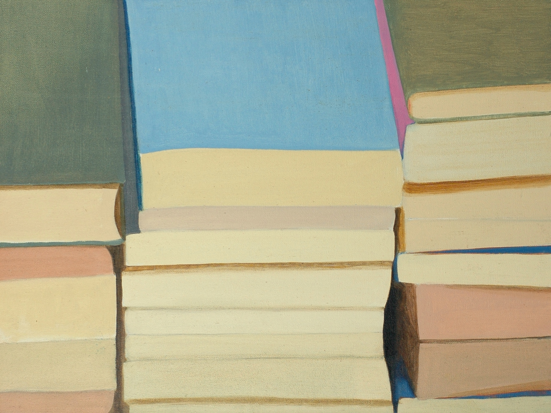 Landscape (books in a corner), 1998