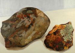 Rocks with lichen, 2014
