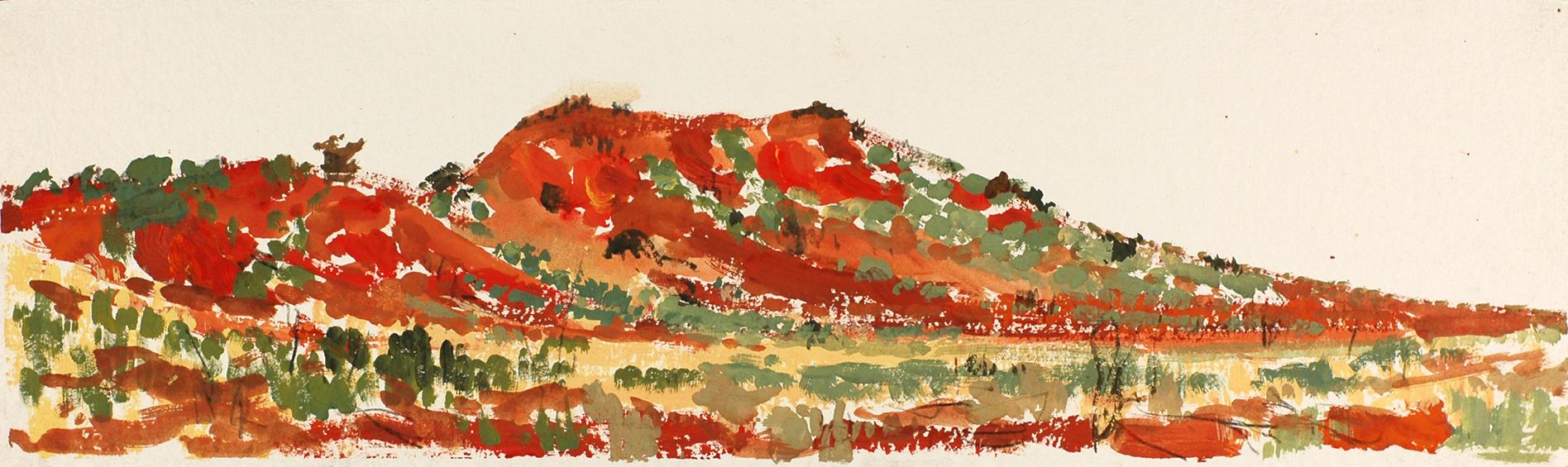 Simpson Desert, dune, 2013
